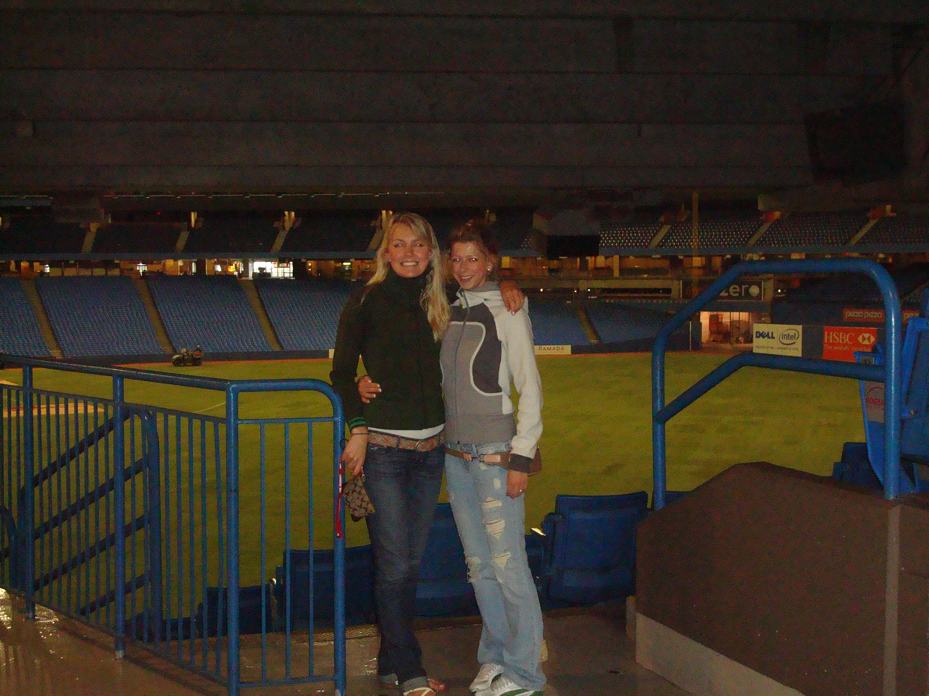 At the Rogers Centre