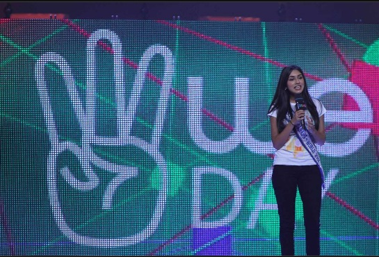 Megha Sandhu, 2012. WE Day, Miss Teenage Canada,