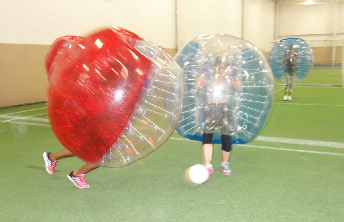 Bubble Soccer at GTA Sportsplex