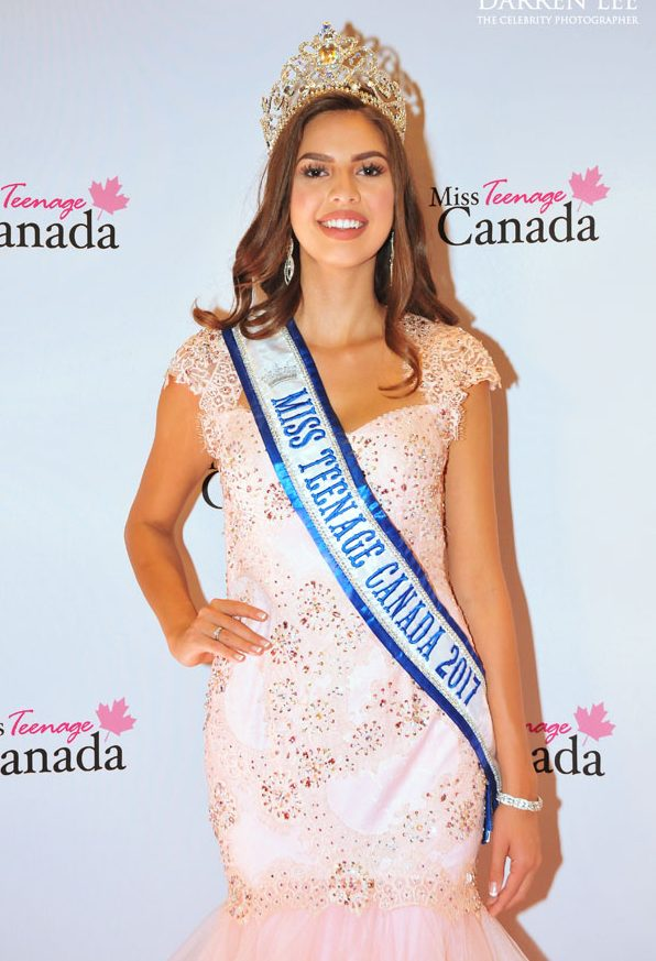 Emma Morrison, 2017 Miss Teenage Canada
