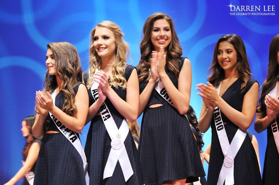 Top five finalists at 2017 Miss Teenage Canada